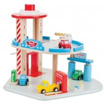 Bigjigs Toys Garage