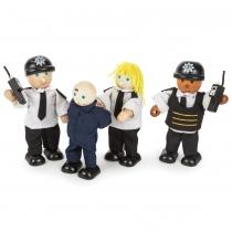 Bigjigs Toys Set de Policias