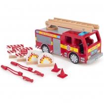 Bigjigs Toys Camión de Bomberos
