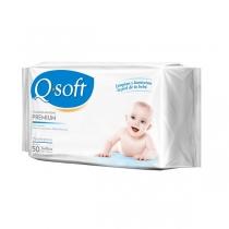 Toallitas Húmedas Q-Soft Clásicas Premium x50