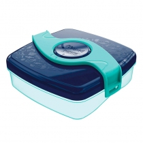 Tupper Maped Box Azul Snacks