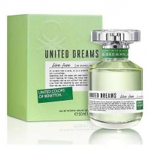 Perfume Benetton Dreams Live Free EDT 50ML