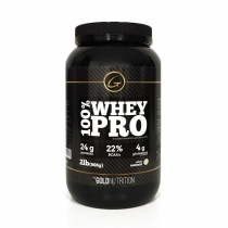 100% Whey Pro Gold Nutrition 2lb Natural