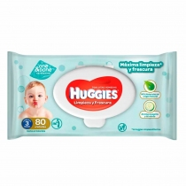 Toallitas Húmedas Huggies One & Done x48