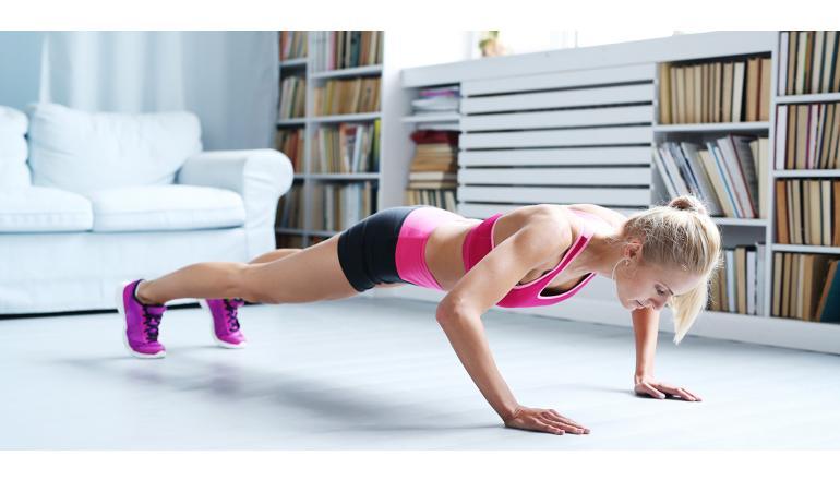 ¿Cuáles son los mejores ejercicios para hacer en nuestro hogar?